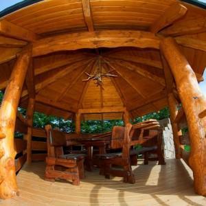 altana drewniana