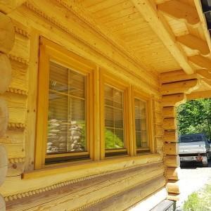 drewniany dom z bali 11