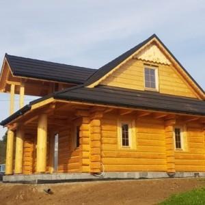 drewniany dom z bali 2