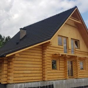 drewniany dom z bali 7