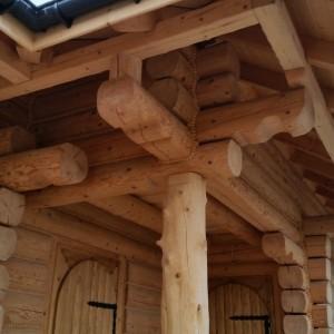 podpora drewniana